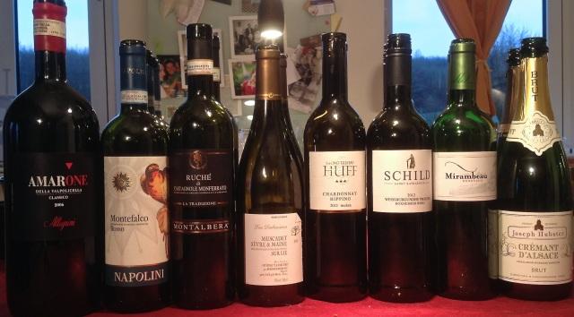 Wein-Cremant-Amarone-Ruche-Montefalco-Chardonnay-Pfalz