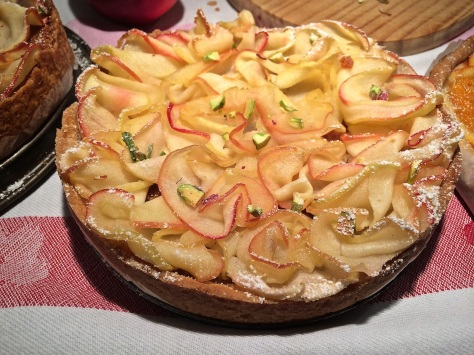 Apfelkuchen mit-feinen Apfelscheiben IMG_6253