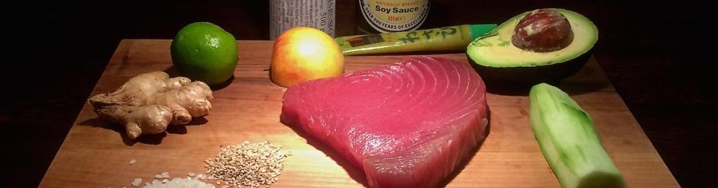 Thunfisch-Avocado-Wasabi-Rezept