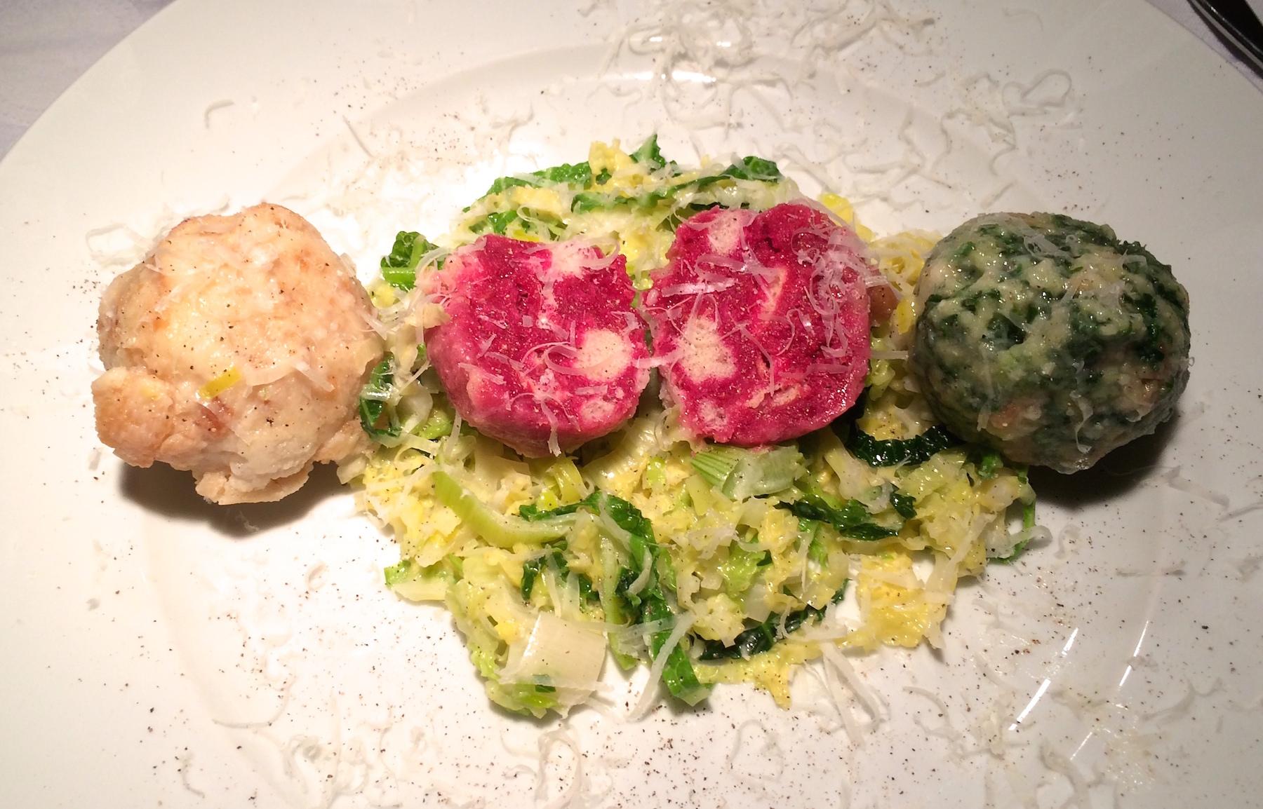Tris vom Knödel – Hommage an Südtirol | Echtes Essen
