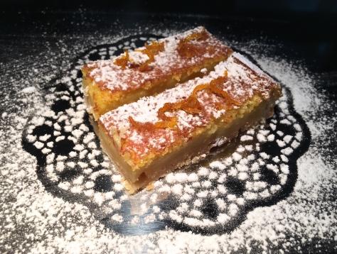 Orange-Bar oder Orangenschnitten - Muerbeteig mit Vanille-Orangen-Creme IMG_3374