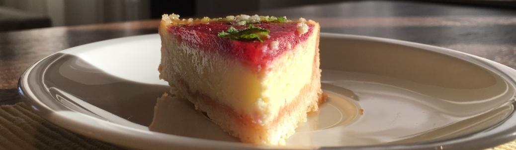 Kaesekuchen-Tarte mit Frischkaese und Erdbeerspiegel IMG_8954.JPG