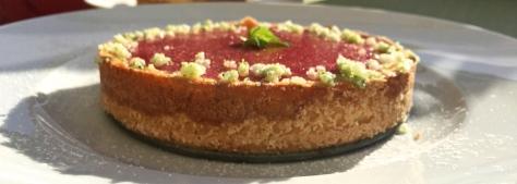 Kaesekuchen Tarte mit Frischkaese-mit- Erdbeeren IMG_8923