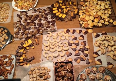 Weihnachtsbäckerei - ohne Triebmittel geht nichts - Espresso Walnuss Plätzchen Backen mit Freundinnen IMG_0596