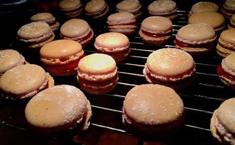 Macarons Himbeer-Creme Rezept IMG_3283