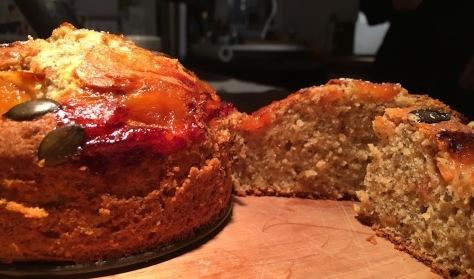 Herbstkuchen Quitte Kuerbiskerne Vanille IMG_3139