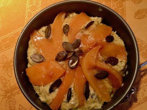 Quittenkuchen mit Kuerbiskernen und Vanille fuer den Herbst IMG_5762