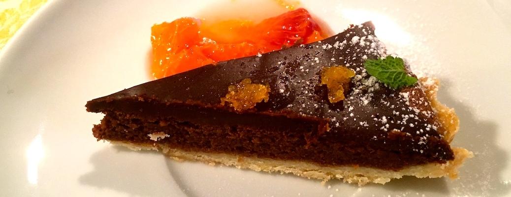 Schokoladen Dessert Tarte mit Blutorange IMG_7688 Header